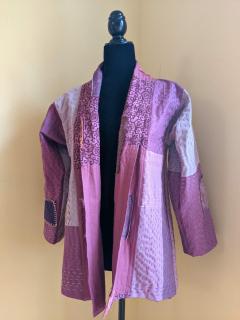 Kantha jacket front