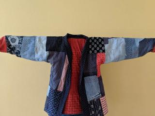 Boro jacket front