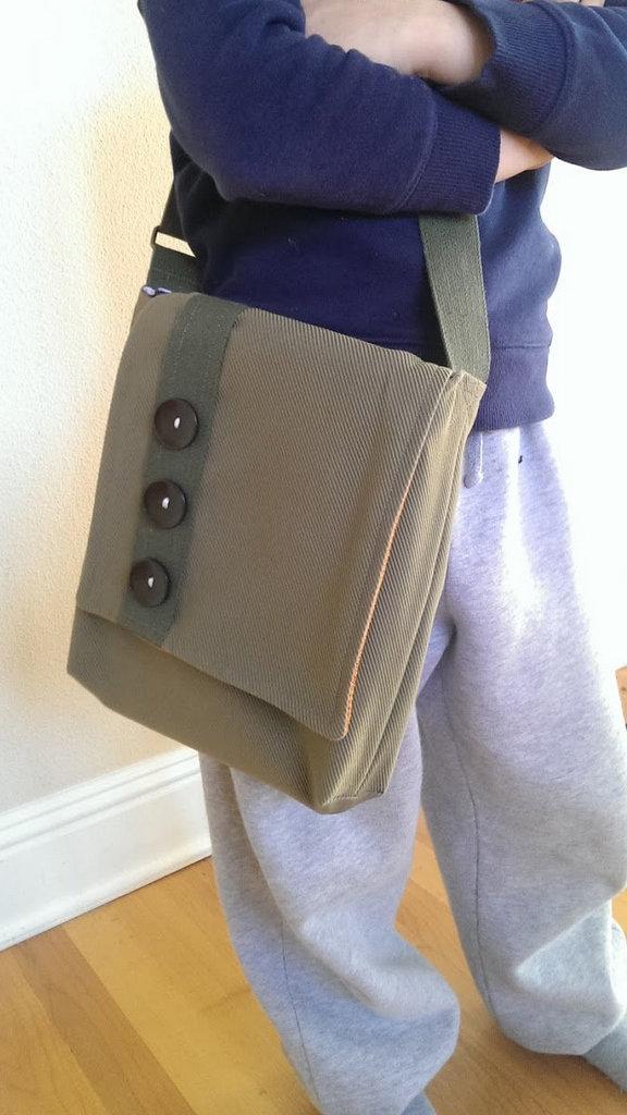 ANY Texture boy's i-pad bag