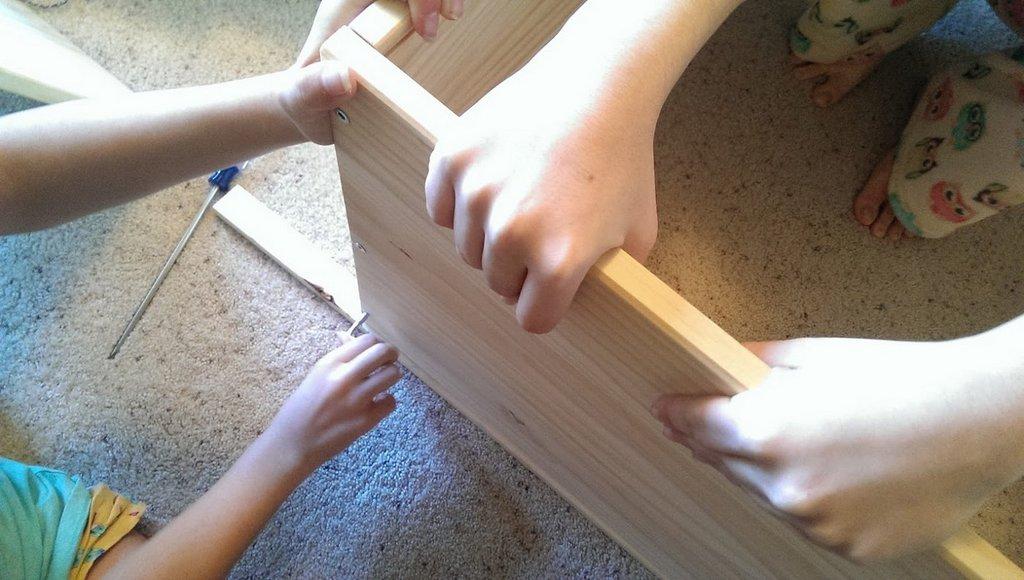 Building fabric storage