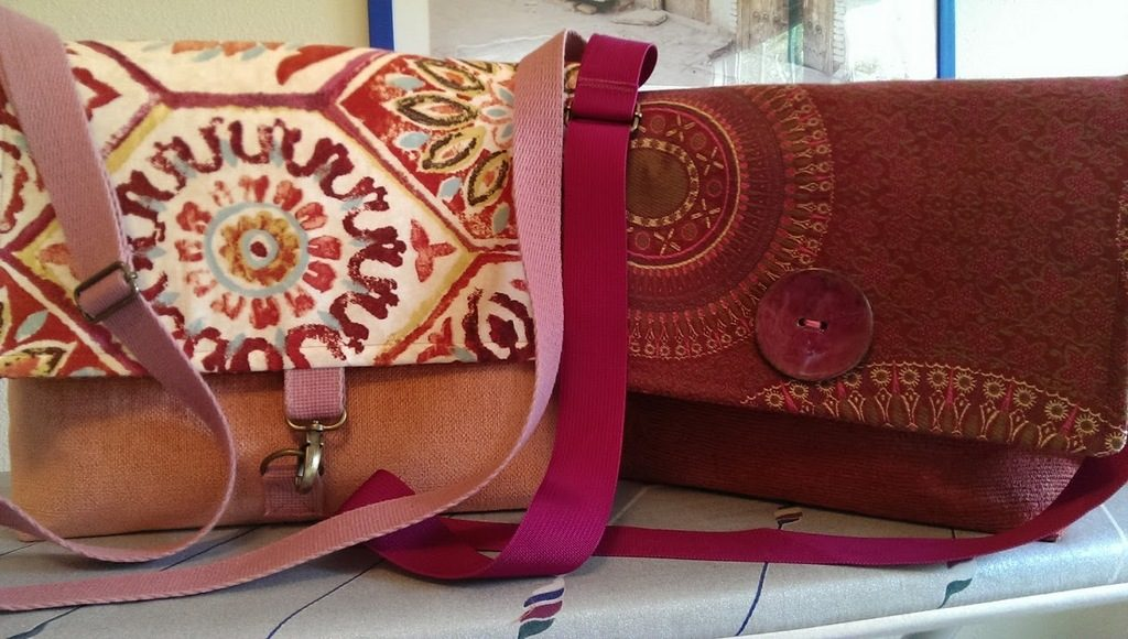 Finished sustainable spring purses