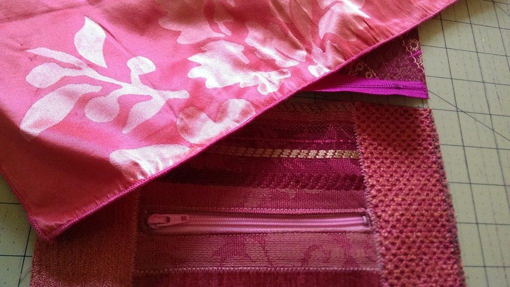 Silk lining for my spring slip