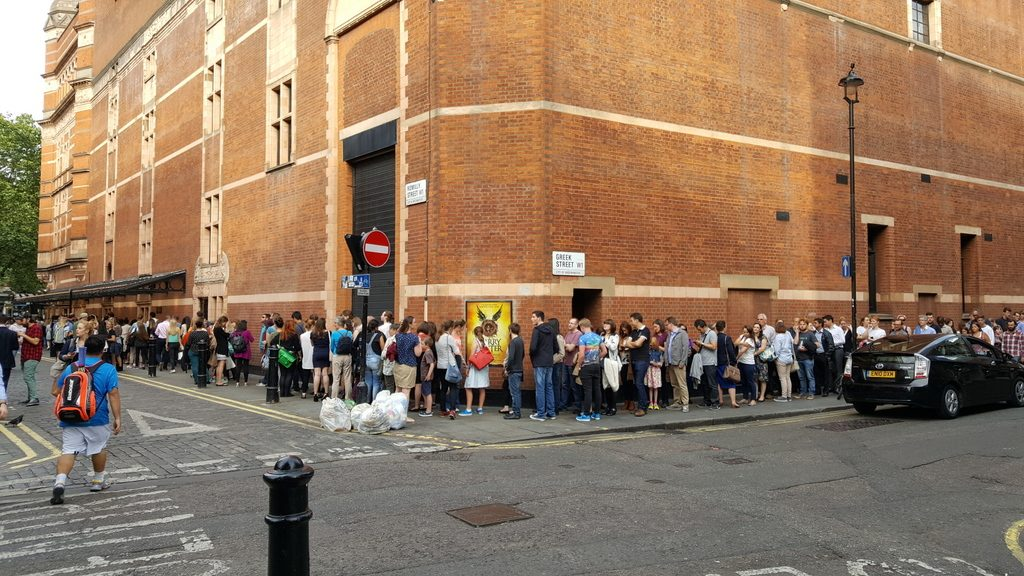 Lines to Harry Potter and the Cursed Child, London