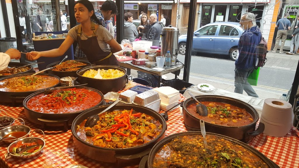 Food near Brick Lane market