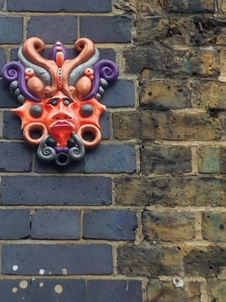 Fun street art around Brick Lane Market