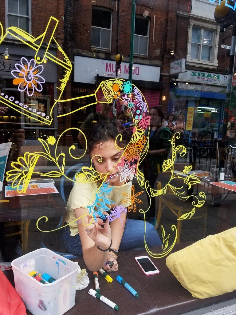London Window Decorations