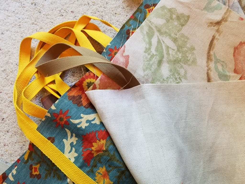 Sewing new Market Totes