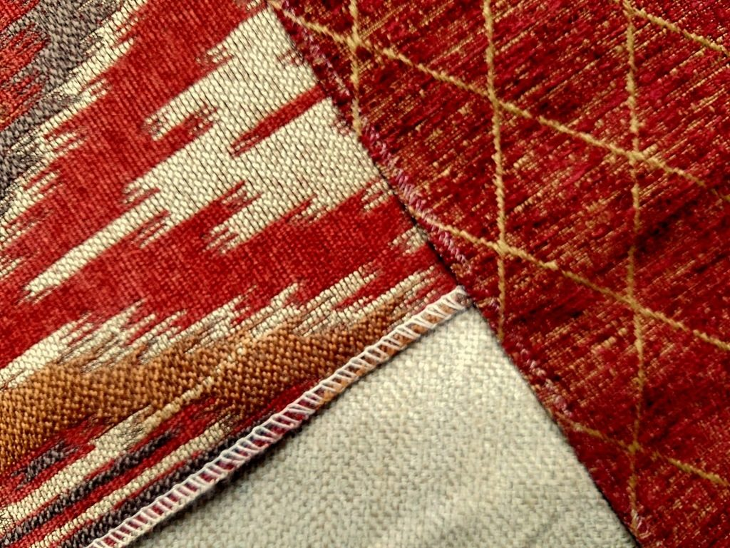 Fall-colored upholstery fabrics