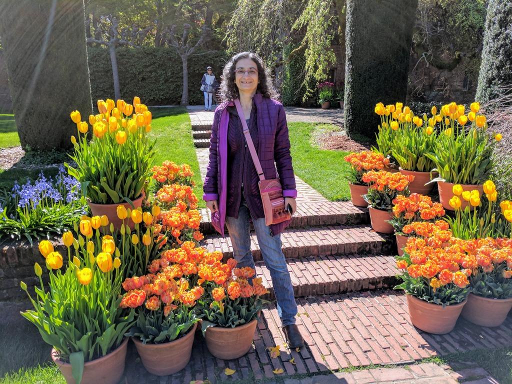 Me at Filoli Gardens