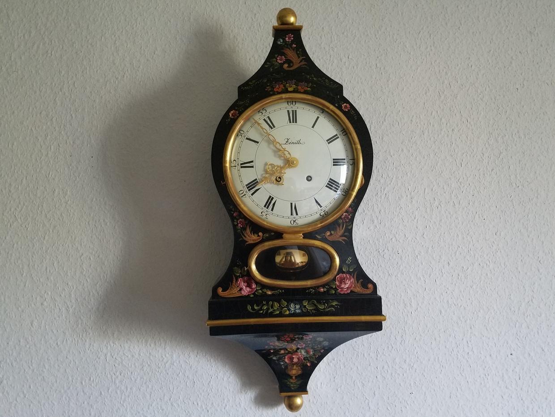 Old Swiss Office clock
