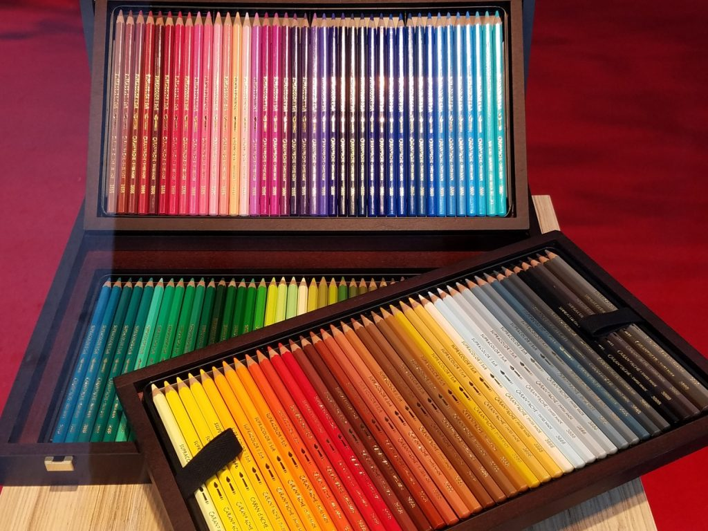 Swiss colored pencils