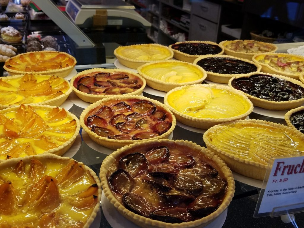 Swiss pies