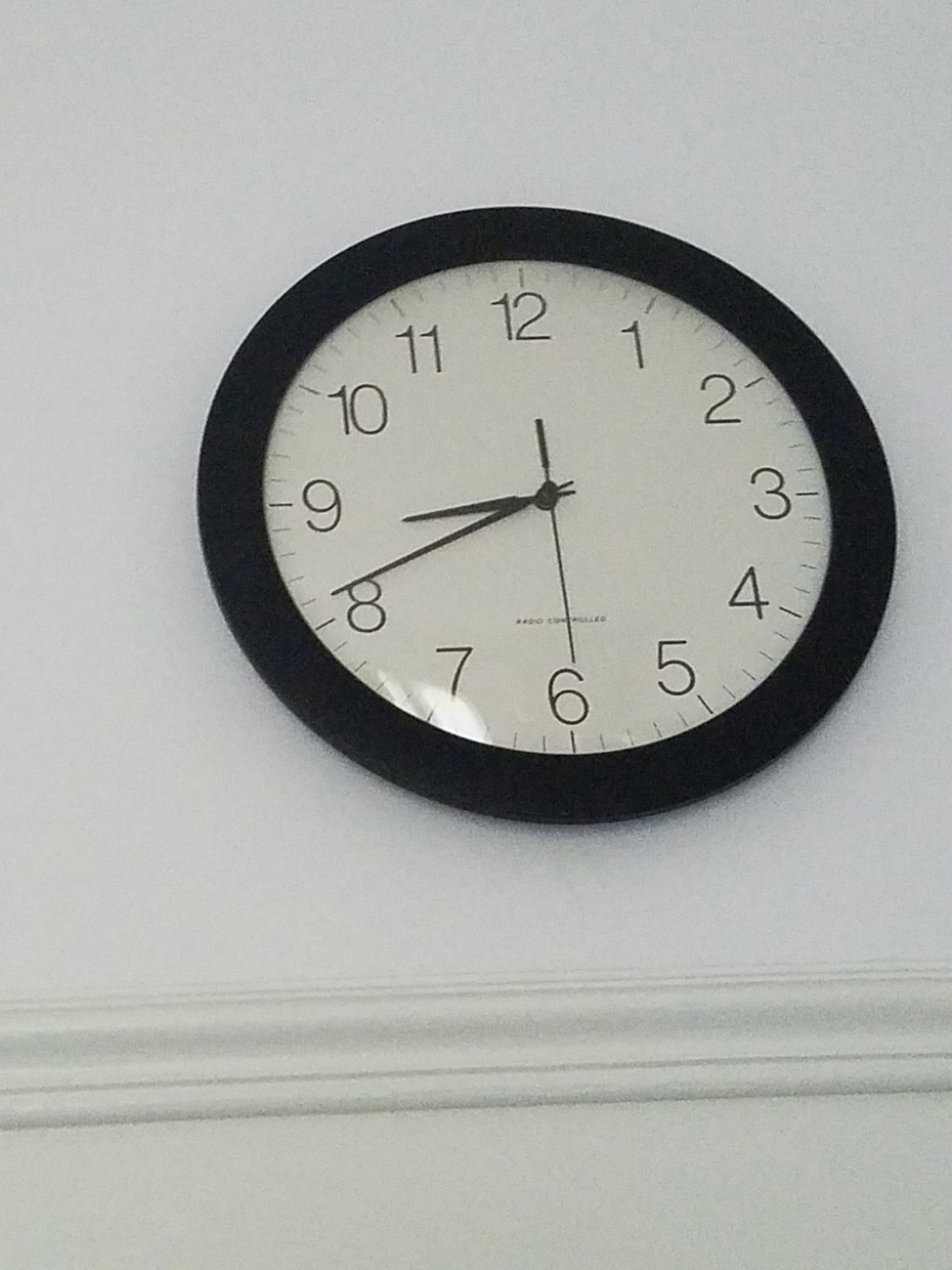 Bathroom clock