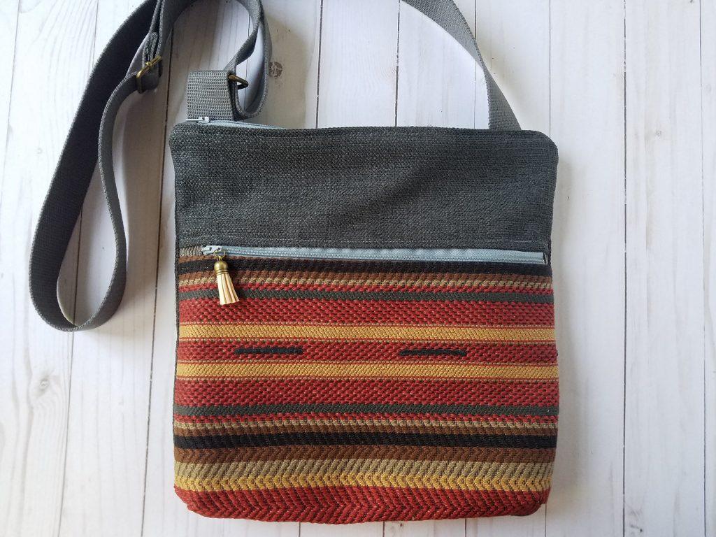 Travel Cross Body Bag Any Texture Textile Art