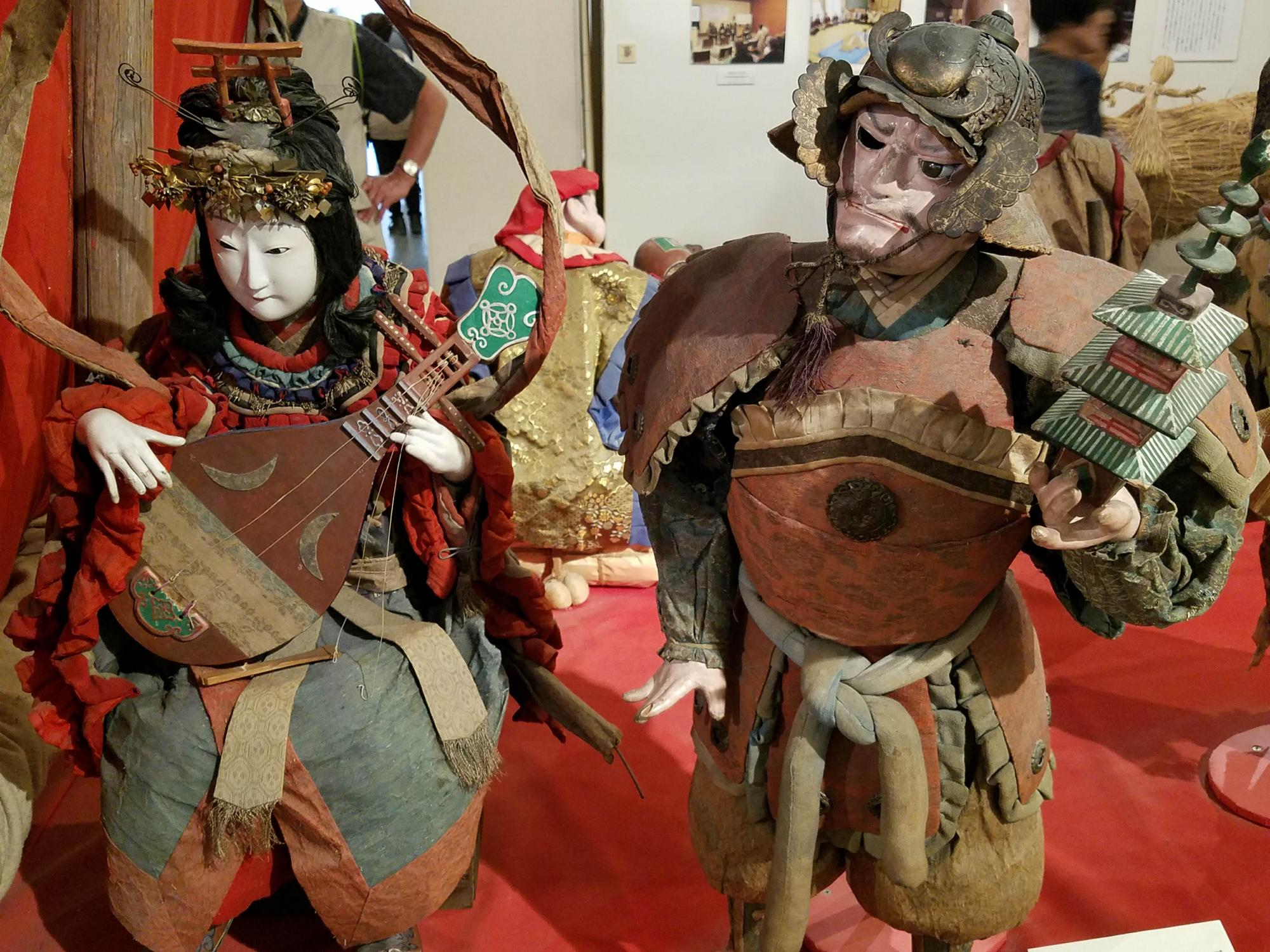 Deity figurines at the Matsumoto City Museum