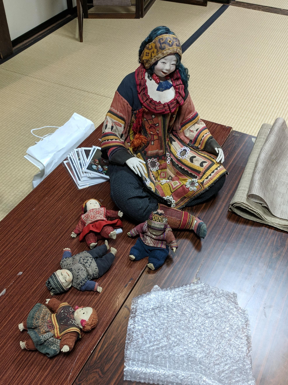 Doll made by doll-maker Aya Futura