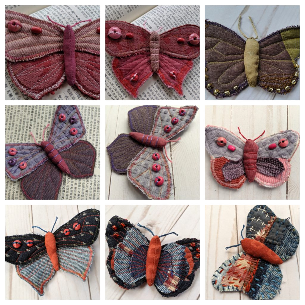 Art in Times of Corona: Textile Butterfly