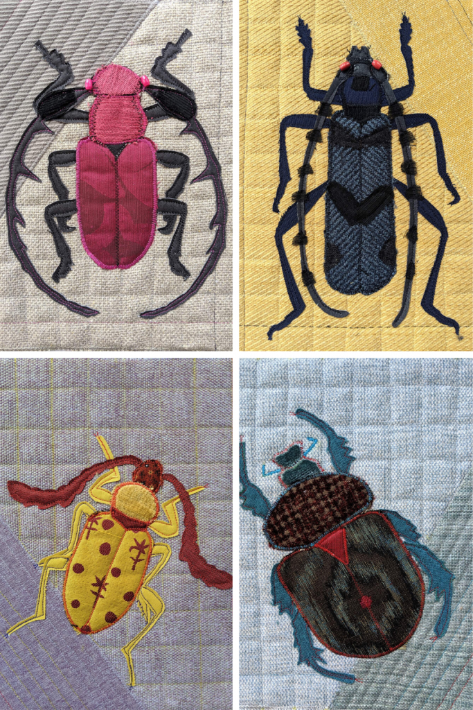 Art in Times of Corona: Beetle quilts