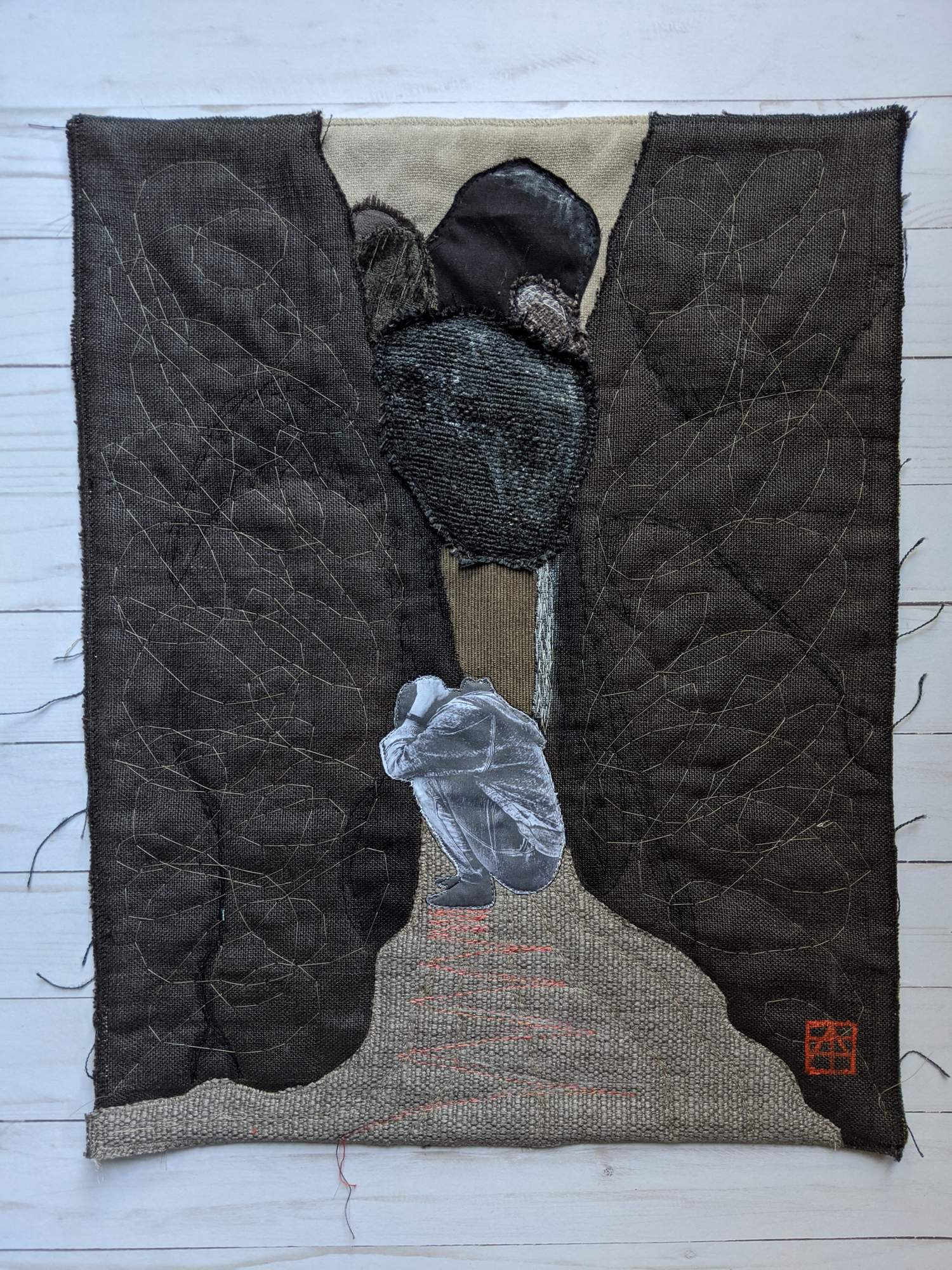 2020 finished art quilt