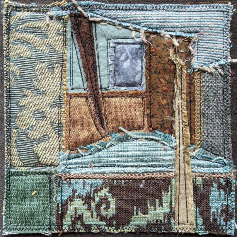 Spark Mini Quilt Series, Quilt #7