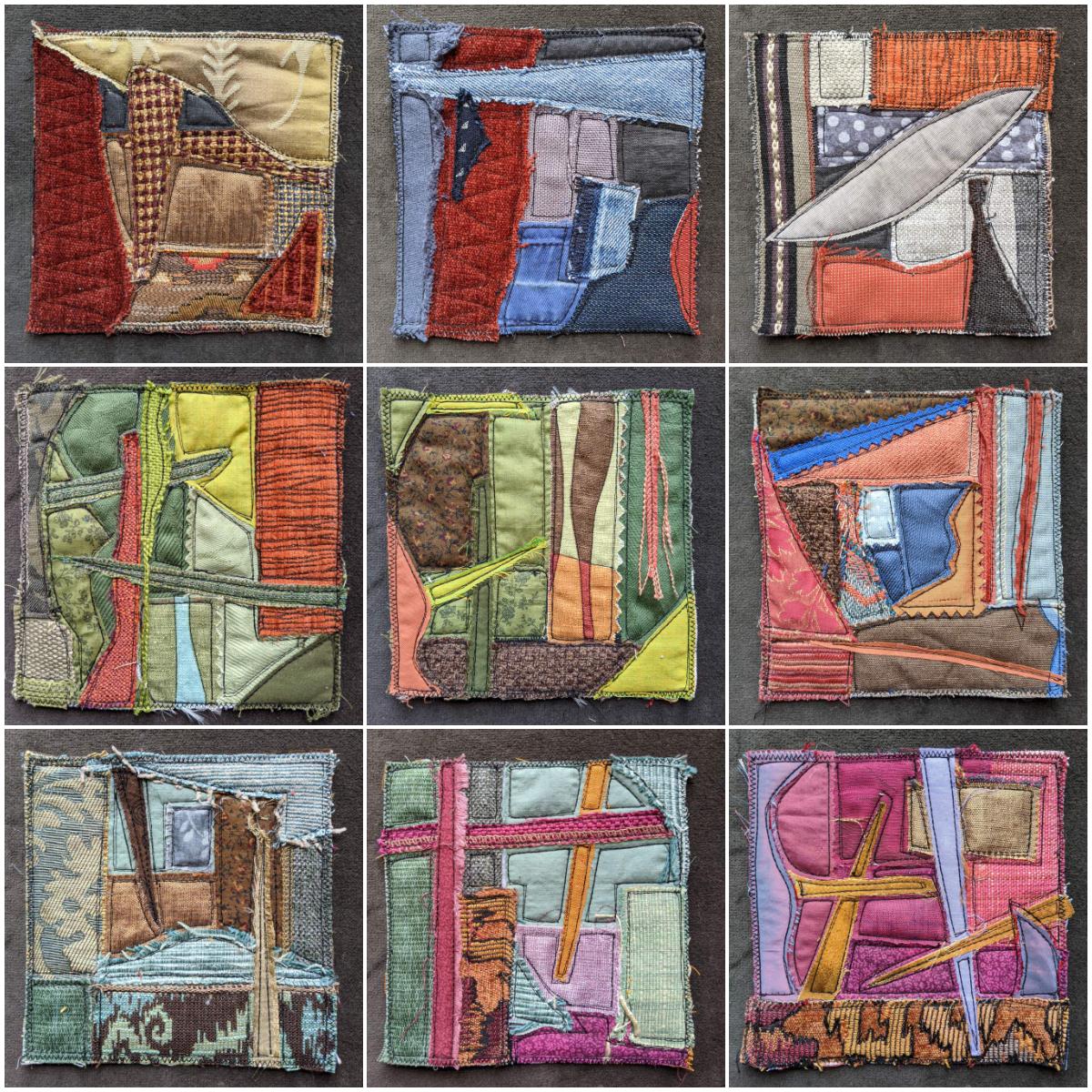 Spark art quilts series